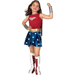 Rubie's Costumes Wonder Woman Toddler Costume, Red/Blue