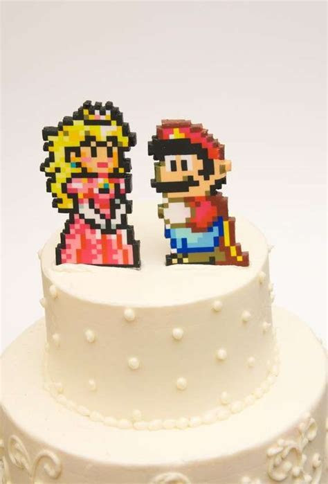 Geeky Gamer Cake Toppers : Studio Sweets
