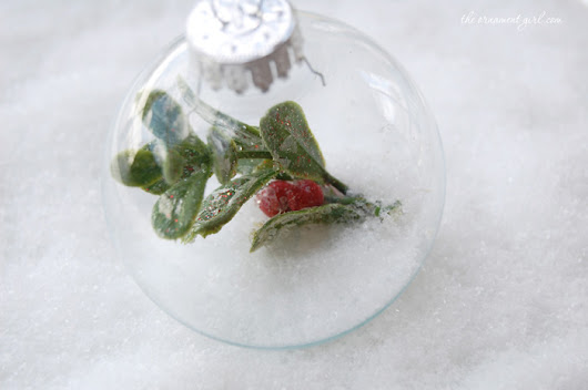 3 quick & easy ornaments you can make in 10 minutes.