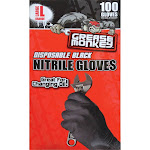 Grease Monkey Nitrile Large Disposable Gloves (100-Count)