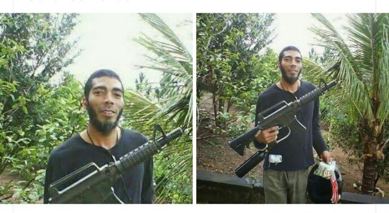 foto editada terrorista brasileiro