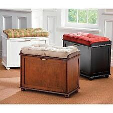 Stools and Indoor Benches in Type:Storage Bench | eBay