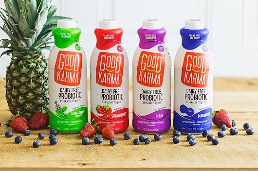 Good Karma Giveaway + Flaxmilk Probiotic Drinkable Yogurt