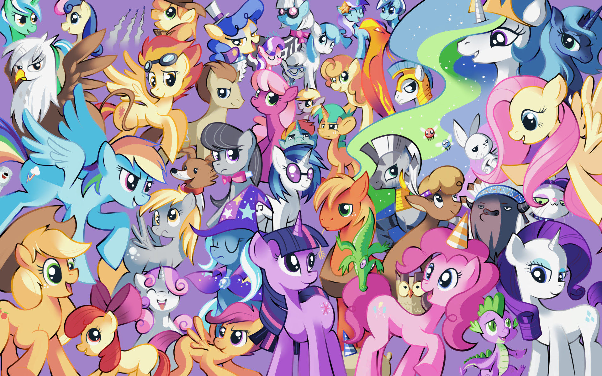 Mlp Background Ponies Wallpaper 82 Images