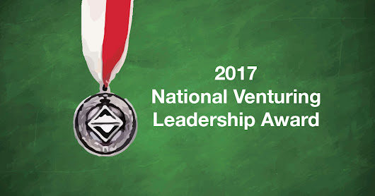 A big hand for these 8 recipients of the 2017 National Venturing Leadership Award