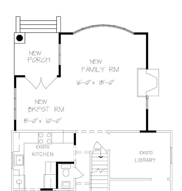 Home Additions Plan Drawings: Cool Room Addition Floor Plans (+4) Estimate