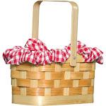 Gingham Basket - 6248 - Tan - One Size