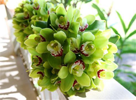 Green wedding flowers   Blue Sky Weddings Maui