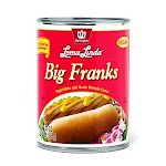 Loma Linda, Vegan Big Franks, 20 Ounce -PACK 3