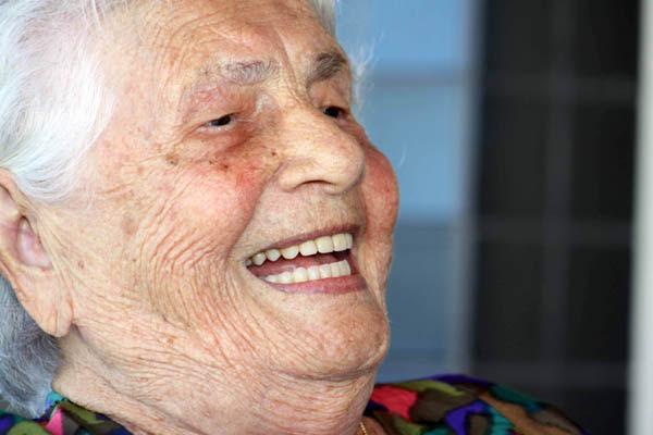 Otília Pina de Oliveira, 102 anos
