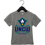 NCAA UNC Wilmington PPNCW010, G.A.3413T, TGRY, 3T Size 3T TriGrey
