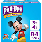 Pull Ups Learning Designs Training Pants, 3T-4T (32-40 lb), Disney/Pixar - 84 pants