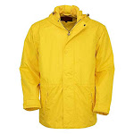Outback Trading Men's Pak-A-Roo Polyester Windproof Waterproof Parka - Gold - 2X Gold