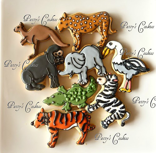 Wild animals by pattycookies