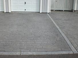 mönstrad betong kostnad