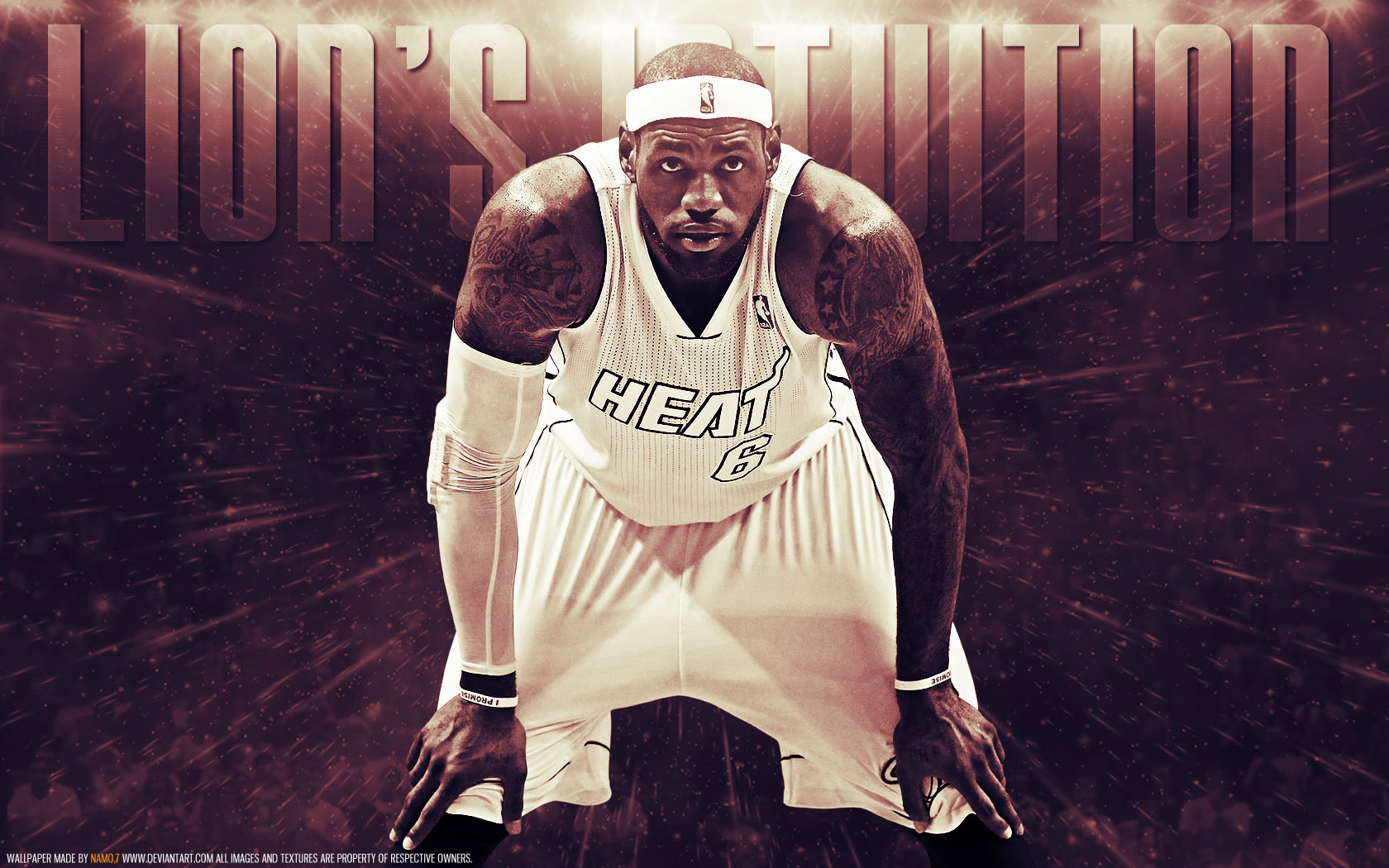 Lebron James 2013 Nba Playoffs 1680 1050 Wallpaper Basketball