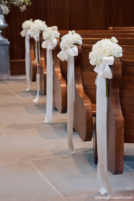 How To Make Church Pew Decorations For A Wedding