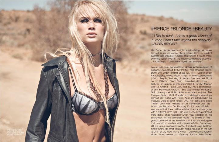 Lauren Bennett – FV Magazine 2014 -04