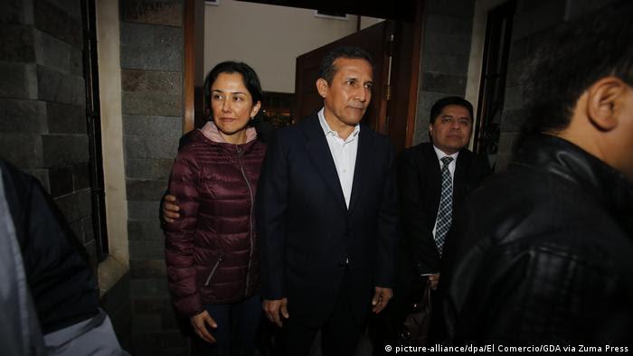 Peru Ex-Präsident Ollanta Humala kommt in U-Haft (picture-alliance/dpa/El Comercio/GDA via Zuma Press)