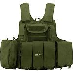 Loaded Gear Tactical Vest - VX-300, Green - Barska Optics