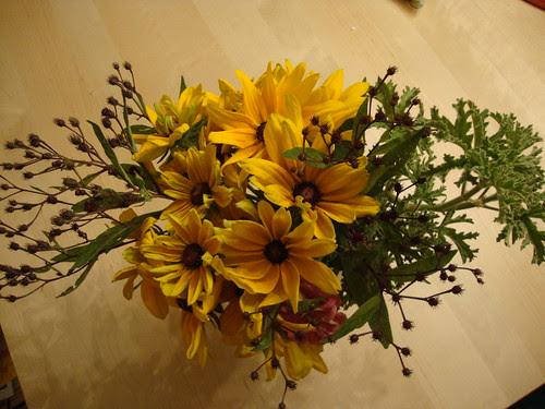 8/25/11 Princeton Farmers Market flowers