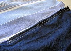 blue skirt :: #1 :: blått skjørt