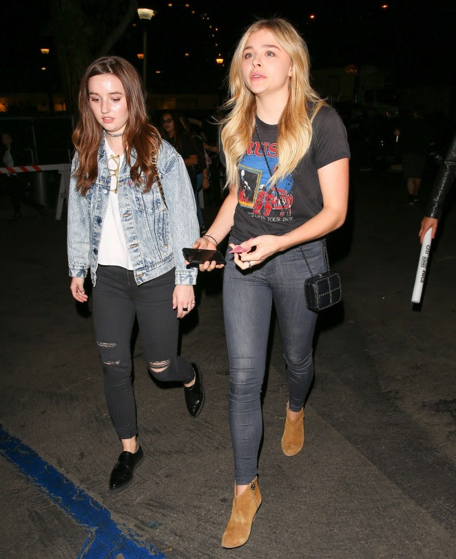 Chloe Moretz and Kaitlyn Dever: We Can Survive Concert -10