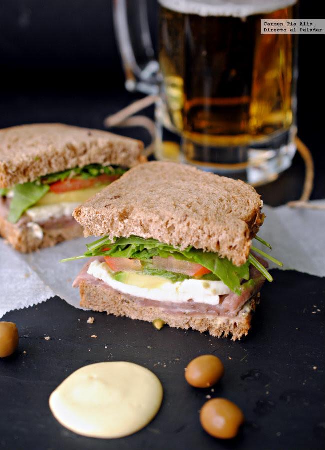 Sandwichdeetrneramarinadaconruculaalamostaza650ma