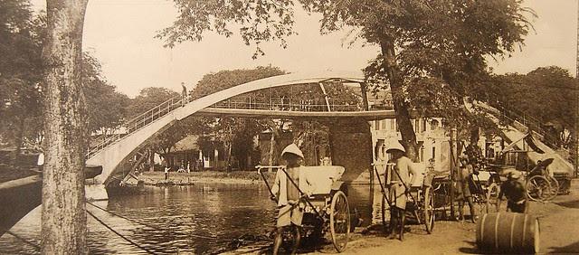 29 Le pont des 3 arches à Cholon, construit par Brossard et Mopin
