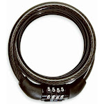 Bell 7076469 Watchdog 100 Bicycle Cable Lock With 5' Steel Cable