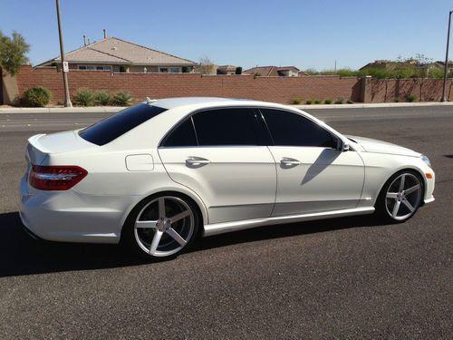 Purchase used 2010 Mercedes-Benz E550 Sedan 4-Door 5.5L ...