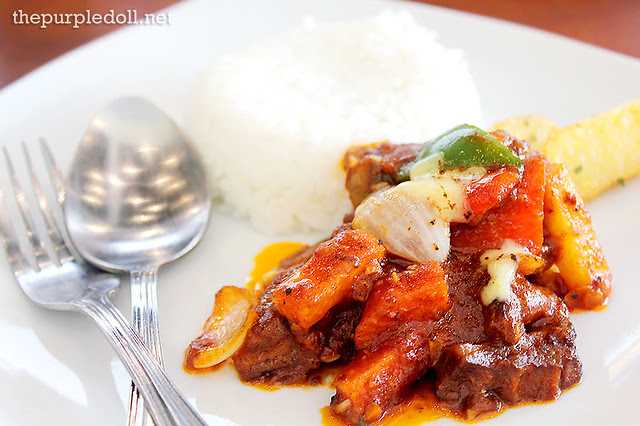 Lamb Kaldereta Rice Meal (P195)