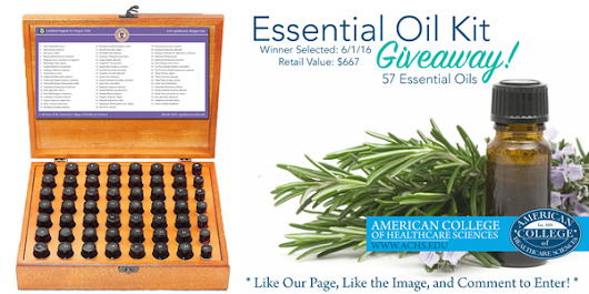 May 2016 Essential Oil Kit Giveaway