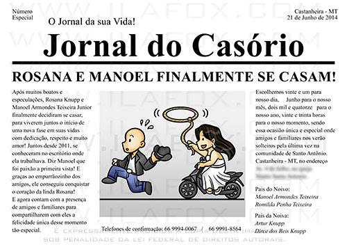 convite personalizado, convite jornal, convite divertido, convite original, by ila fox