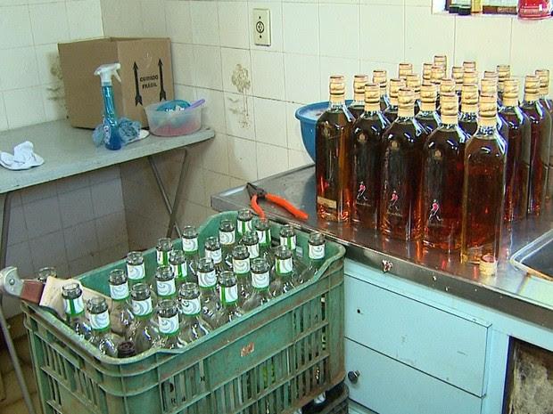 Resultado de imagem para falsificação de bebidas