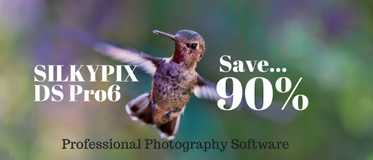 Black Friday – Cyber Monday Special: SILKYPIX DS Pro6 Just $24