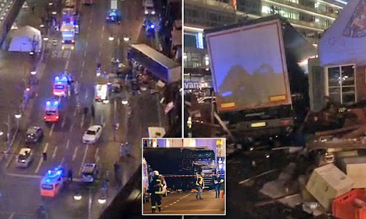 At least nine dead after lorry ploughs into Berlin Christmas market