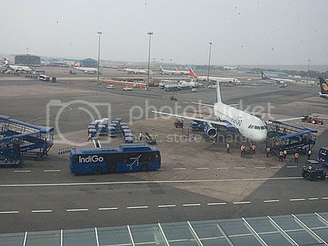 Delhi Airport view