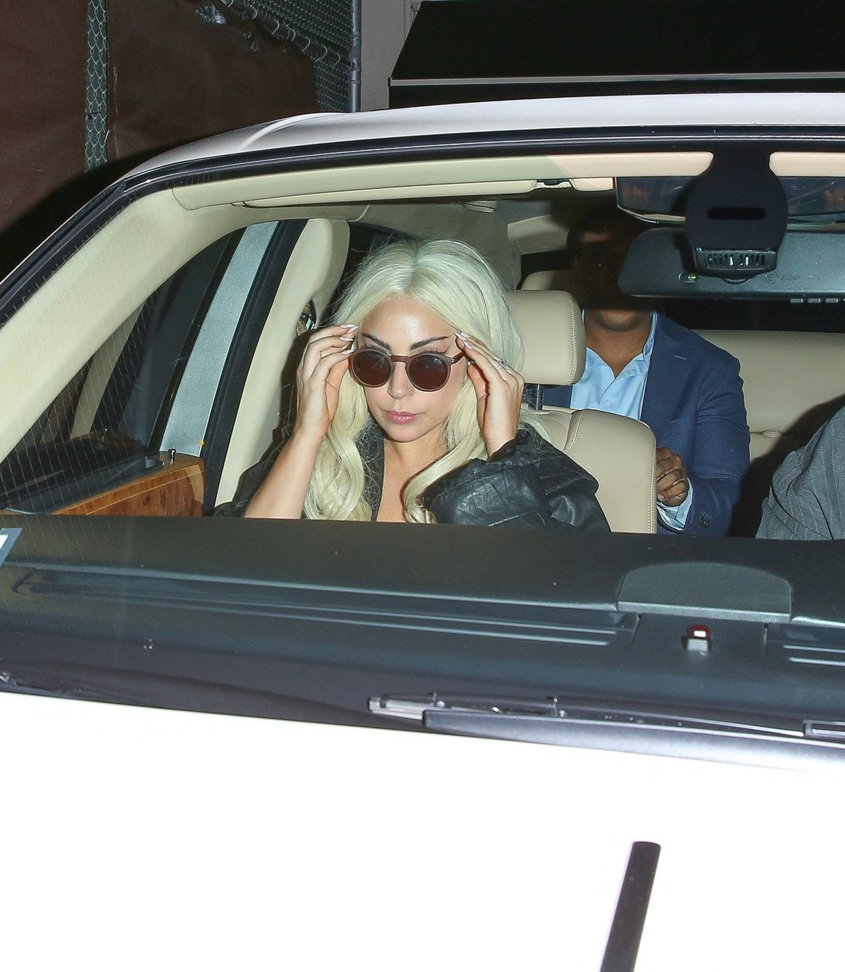 LADY GAGA Leaves Craig