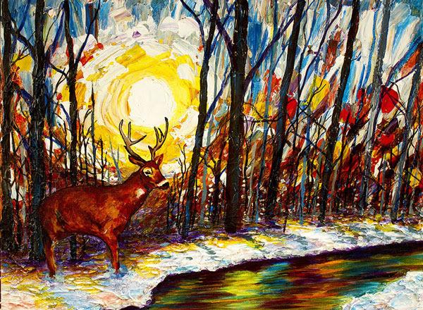 perierga.gr - Οι εκπληκτικοί πίνακες ενός τυφλού ζωγράφου!