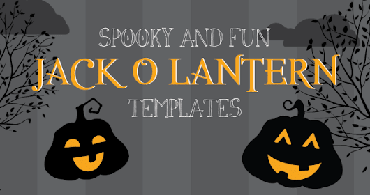 15 Free Jack O'Lantern Templates for the Whole Family