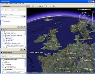 Visitez la terre avec Google Earth