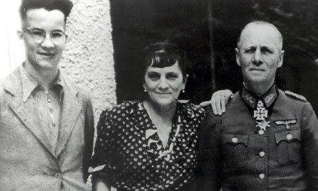 Manfred, Lucie and Erwin Rommel