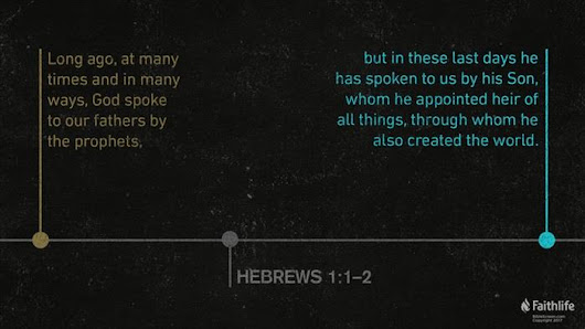 Hebrews 1:1–6:20