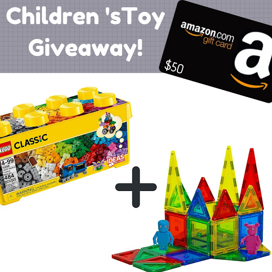 FREE $50 Amazon Gift Card + 2 FREE Children's Gifts!