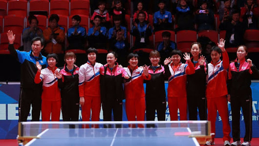 Give peace a chance, North & South Korea Table Tennis players unified at the World Championship 2018