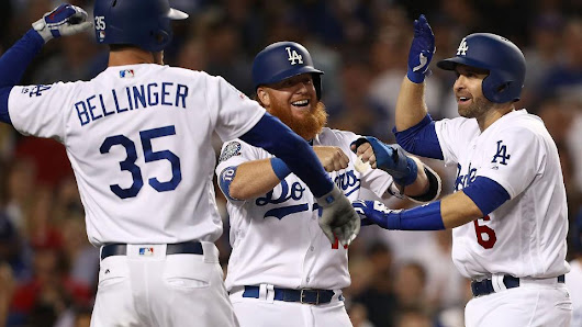 Dodgers score 21 runs on seven home runs