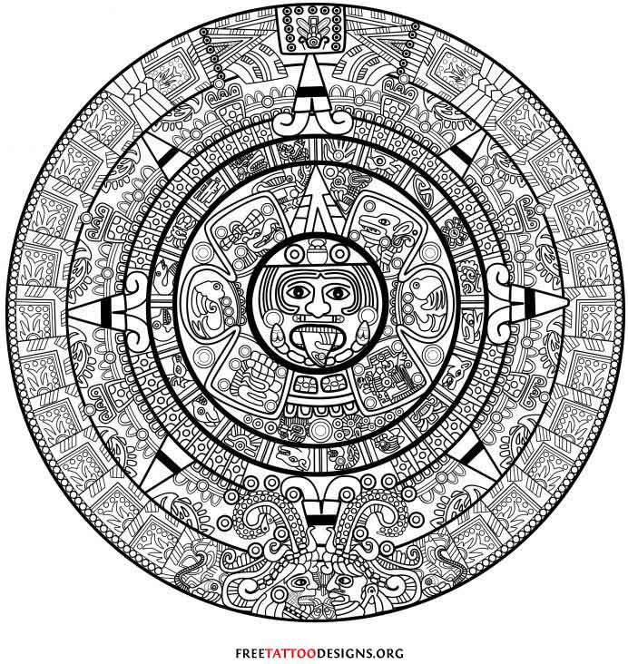 Aztec Tattoo Meanings In Jail Best Tattoo Ideas