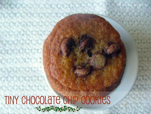 Tiny Chocolate Chip Cookies