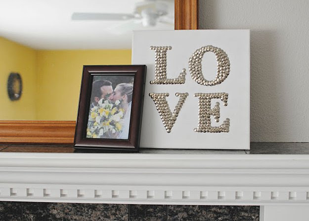 Cute and Cheap DIY Home Decor Projects | http://diyready.com/diy-home-decor-under-an-hour/